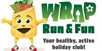 Youngsters will have a ball at Wrap, Run & Fun