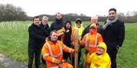 2,000 trees will be planted to create woodland walk at Ardeer Quarry