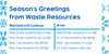 Changes to bin collections over the festive period